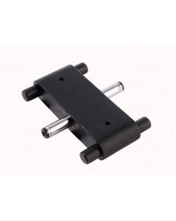 Набор угловых коннекторов Deko-Light Connector Mia straight, black 930160